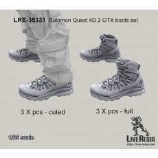 Salomon Quest 4D 2 GTX boots set