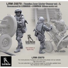 Russian Army Mortar Gunner set 2. For LRE35362 - LRE35363 120mm mortar set