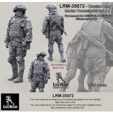 Russian Army Mortar Commander set 4. For LRE35362 - LRE35363 120mm mortar set