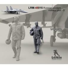 Russian modern military pilot - 5