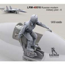 Russian modern military pilot - 6