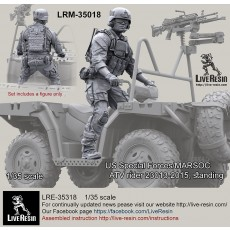 US Special Forces/MARSOC ATV rider 2013-2015, standing