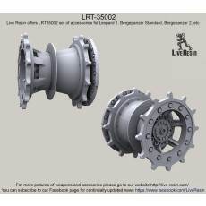 Drive wheels  for Diehl 139E2 workable track - Leopard 1, Bergepanzer Standard, Bergepanzer 2, etc.