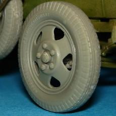 Wheels for GAZ-AAA & BA Armoured Cars