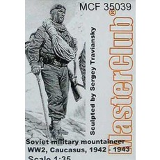 The Soviet mountain soldier, 1942 - 43, Caucasus