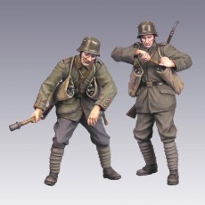 The German soldiers  WWI 2 figures