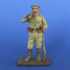 The Russian soldier  WWI Summer