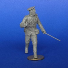 The Russian officer WWI