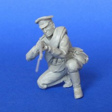 The Russian soldier  WWI