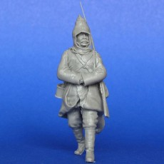 The Russian soldier  WWI Winter
