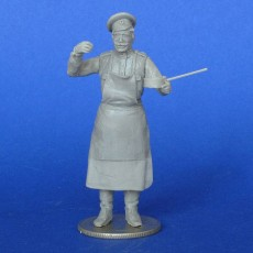 The Russian soldier,cook WWI