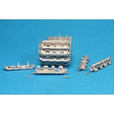 High quality workable metal tracks for Pz.Kpfw.VI Tiger early