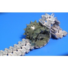 High quality workable metal tracks  T-90
