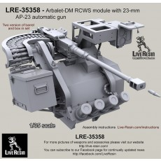 Arbalet-DM RCWS module with 23-mm AP-23 automatic gun