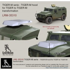 TIGER-M serie - TIGER-M hood for TIGER to TIGER-M transformation