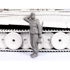 German tank crewman 1942-45. One figure.