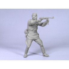 Soviet infantry officer 1942 №3. One figure.