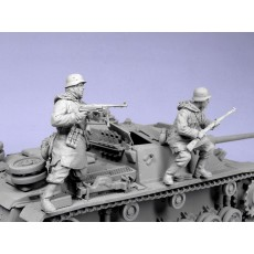 German panzergrenadieren SS №2. Kharkow,winter 1943. Two figures.