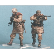 German infantry SS №2. Kharkow,winter 1943. Two figures.