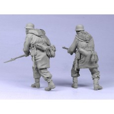 German infantry SS №6. Kharkow,winter 1943. Two figures.