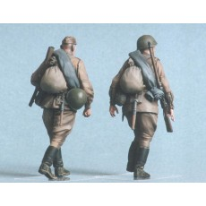 Soviet infantry №2.  Kursk 1943 Two figures.