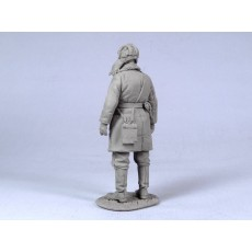 Soviet tank officer.  Winter 1941-44.  One figure.