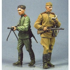 Red Army men №2.  Summer 1943-45.  Two figures.
