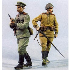 Red Army men №3.  Summer 1943-45.  Two figures.