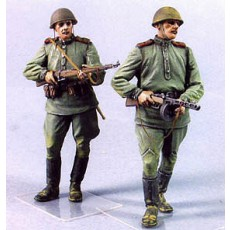 Red Army men №4.  Summer 1943-45.  Two figures.