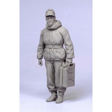 German tanker.  Winter 1942-45.  One figure.
