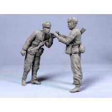 Red Army scouts №2.  Summer 1943-45.  Two figures.