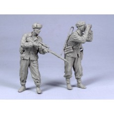 Soviet Snipers №2.  V. Zaitsev.  Winter 1942-43.  Two figures.