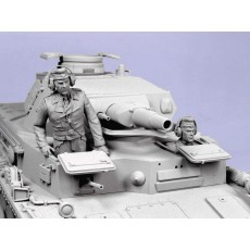 German tank crew.  Summer 1935-44.  Two figures.