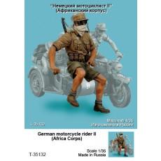 German motorcycle rider II (Africa Corps)