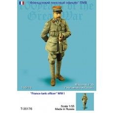 France tank officer WW I, ONE FIGURE