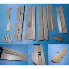 Bf110C/D/E Flaps, Control Surfaces and Short Tail (Cyber Hobby)