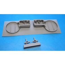 Spitfire VIII/IXc wheel wells (Has.)
