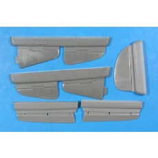 Yak-7/9(early) control surfaces
